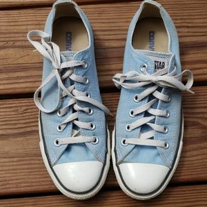 Converse All Star Light Blue Sneakers GUC Men's 6